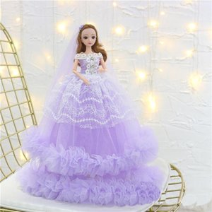 45cm Princess Dolls Girls Toy Girl Dress Cartoon Clothes Collector Toys Presents Birthday Inspiring Gifts For Afkco