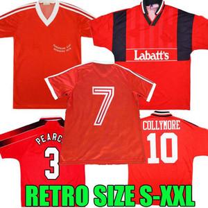 Gewinner 1979 1994 1995 Nottingham Forest Retro Football Home Hemden Pearce Collymore Soccer-Trikots