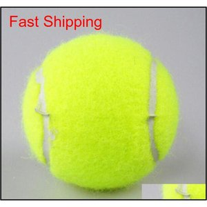 New Outdoor Sports Training Yellow Tennis Balls Tournament Outdoor Fun Cricket Beach Dog Sport Training Ten qyljOM home2006