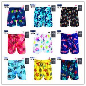 2021 Bermuda Brand Brevilepullquin Beach Boardshorts Swimwear Men Vilebre Turtles Swimshort Skateboard Sexy Male Bathing Shorts Y1209