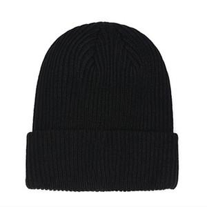 New France fashion beanies hats bonnet winter beanie knitted wool hat plus velvet cap skullies Thicker mask Fringe hats man