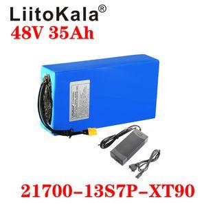 48 V 35Ah 21700 5000mAh 13S7P Batteria E-Bike 20A BMS 48V Battery batteria al litio per la bici elettrica scooter elettrico