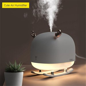 Ultrasonic Air Humidifier USB Creative Sleigh Deer Aroma Essential Oil Diffuser Fog Mist Maker with LED Night Light Home Car