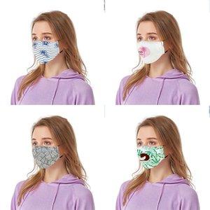 Tuch Blatt Printing Mouth Respirator Fashion Lady Can PM2.5 Filter Mascarilla Sommer Man Put Atem Gesicht 5 88by G2 Maske