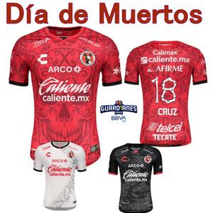 2020 2021 Tijuana de Xolos Jersey 20 21 Club Tijuana Bolaños Yrizar Angulo Castillo Día de Muertos Shirt de football