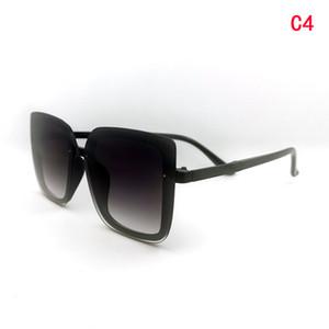 Moda óculos de sol homens occhiali da sola óculos de sol quadrado óculos de sol anti uv uv400 estilo retro óculos de sol gradient cor lente