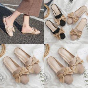 mdel Nouveau Santon Summer Luxury Designer Fille Freeze C Chaussures Été Appartement avec Année Femmes Sandales Sandales Pantoufles Paris Mode