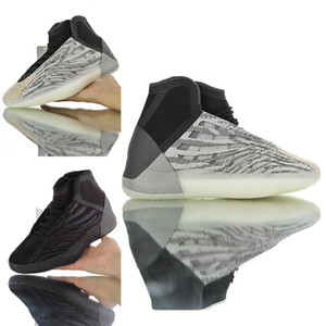 Quantum Shoes for Men Kanyewest 3M Sneakers Man Kanye West Sports Shoe Barium Reflective Black Basketball model in 2020