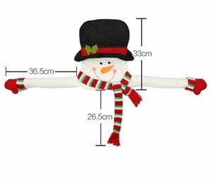Stehen Frohe Weihnachten Weihnachtsmann Snow Weihnachten Elk-hängende für Kinder-Party-Dekor-Dekorationen Weihnachten Saison Heim SWR2 #