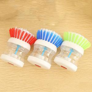 Ücretsiz Kargo Mutfak Hidrolik Temizleme Fırçası Naylon Aracı Mutfak Temizleme Için Temizleme Yapışmaz Yağ Bulaşık Yıkama Fırçası Temizlik OWF2832