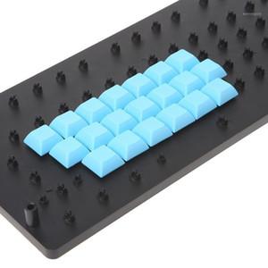 Keyboards PBT Keycaps DSA 1u Blank Printed For Gaming Mechanical Keyboard M2EC1