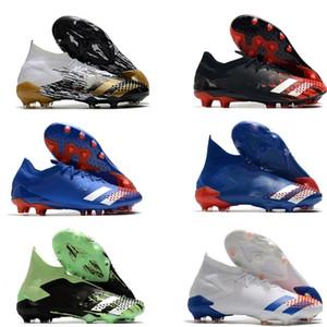 Predator Predator Mutator 20+ FG bambini qualità bambini Mens Calcio Bitte Boots ART unità nella diversità scarpe da calcio nucleo nero Borgogna