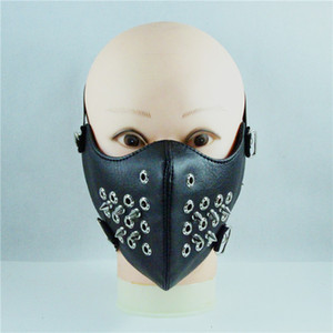 Punk Chicken кожа глаз Rivet персонализированный Рок Мотоцикл маска