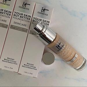 Em estoque! Sua pele, mas melhor fundação + luz de pele neutra luz neutra foundation30ml brightencreador