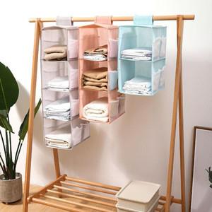 2 3 4 Layer Tidy Holder Hanger Bra Rack Hanging Hang Wardrobe Storage Underwear Organizer Shelf Clothes Bag Closet