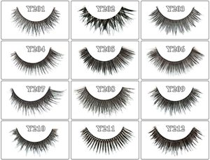Red Cherry 3D False eyelashes 5 pairs pack 38 Styles Natural Long Professional makeup Big eyes High Quality