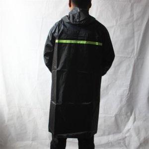 C0LX3 Proteção do Trabalho Proteção Raincoat Única Camada Azul Tampa Luminosa Oxford Pano Moda Longo Grande Um-Peça Raincoat Adulto Pano de Oxford