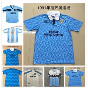 Retro Lazio Soccer Jerseys 1989 1992 1999 2000 2014 NESTA CRESPO SALAS MIHAJLOVIC VERON STANKOVIC INZAGHI NEDVED 91 92 99 00 Football Shirt