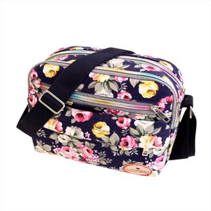 Fashion Women Messenger Bags Canvas Crossbody Bag Shoulder Bag flower print s super quality Bolsos Mujer 4