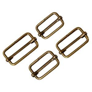 20pcs Metal Adjustable Square Ring Buckles Garment Belt Diy Needlework Luggage Sewing Handmade Bag Purse jllSHb