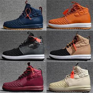 2021 Yeni Forcing 1 Açık Spor Sneakers En Çok Satanlar Moda Ay Bir Koşu Ayakkabıları Erkekler Kış Kış Rahat Ayakkabılar KUTUSU 40-46 Eğitmenler