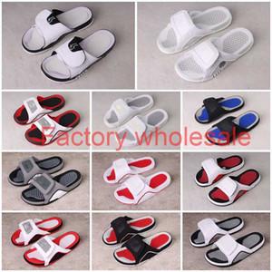13 13 S Hydro Slaytlar Terlik Hydro IV 4 4 S Slaytlar Siyah Sandaletler Jumpman 11 11s Mavi Siyah Beyaz Kırmızı Basketbol Ayakkabı Rahat Spor Sneakers
