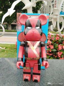 Новый 400% Bearbrick Violent медведь ручной работы Модель Игрушки Настольные украшения день рождения рождественские подарки HD21