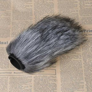 Prefessional Microphone Windshield Windshield شاشة الرياح MUFF Outdoor Furry Fur for Rode Videoomic Go Takstar SGC-598 للمقابلة 1