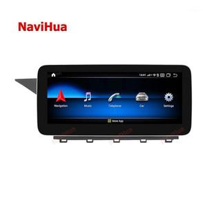 Автомобиль видео Navihua Qualcomm Android 10.0 сенсорный экран 8 Core Player Stereo Audio GPS навигационная система для GLK 2008-20121