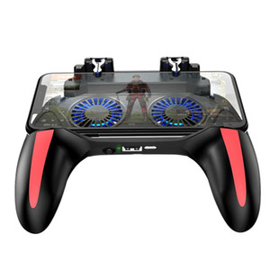 H10 Gaming Accessories Handheld Grip Game Controller Joystick Gamepad For Pubg Trigger Dual Cooling Fan Game Cooler For Phones