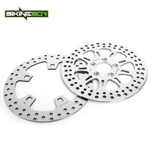 "Bikingboy 11.8 ""Передние задние тормозные диски Диски Rotors для 1584 FLHR 2015-2018 1690 FLTRX 2015-2018 FLTRXS 15-17 FLTRU 16-181"