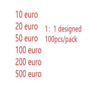 2021 Горячая распродажа контрафактные евро поддельные деньги банкноты опоры деньги бумаги игрушка банкноты бар атмосфера этап дня рождения вечеринка 04