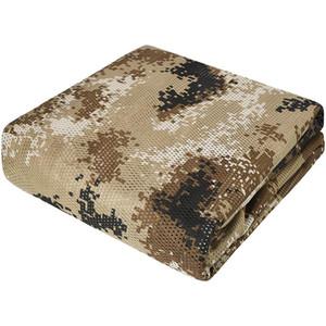 """Netting mimetico 59 """"W 1.5m Camo Bunlap Camouflage Netting Cover Esercito Maglia Tessuto Tessuto Materiale per Caccia Blind"""