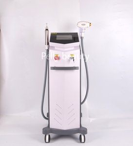 2020 Best 2 in 1 808nm diode laser hair removal machine+Q Switched ND YAG Laser 532nm1064nm1320nm removal tattoo skin care beauty equipment