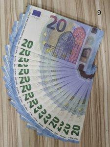 20 Euro Bank 23 Money Prop MONY NIGHTCLUB HINWEISE PAYPAPIER MOINT MEISTES Business Realistisches Kopieren Geld für Sammlung Fake JTJHT