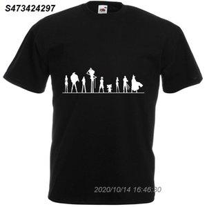 One Piece Cast, Mens Printed T-Shirt Мужчины Хлопок Harajuku Топы Футболка Мода Классический Unique Футболка Streetwear 4101510