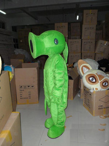 2019 Factory direct sale pea Plants vs. Zombies Cartoon Character mascot Costume Custom Products custom-made free shipping
