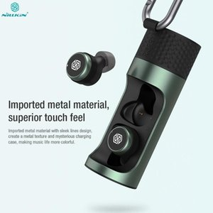 Nillkin Go TW004 Mini auriculares inalámbricos con MIC y CVC Llamada Cancelación de ruido IPX5 Impermeable Qualcomm V5.0 Earbud inalámbrico