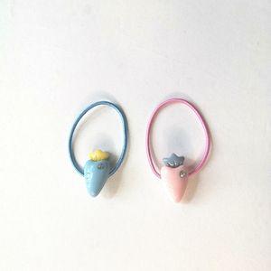 Cute Custom Radish Children's Hair Accessories Rubber Band String Floral Scrunchie