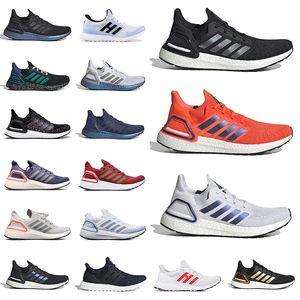Top Venda UltraBoost 19 20 homens correndo Sapatos Esporte Preto Peking Jemes Bond Multicolor Womens University Treinadores Vermelhos Sneakers 36-45