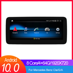 "Android car gps navigation radio player for Mercedes benz A G class W176 CLA Class W117   GLA X156 Auto Navigation 10.25"" Built-in carplay"