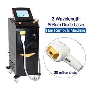 Laser diodo 808nm diodo Depilazione laser a diodi 1064nm 755nm 808nm 3 lunghezza d'onda Alexandrite Laser Machine laser
