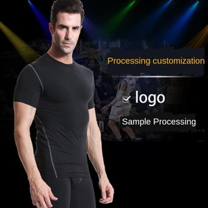 Uomini e delle donne delle calzamaglia Sport Fitness Running Training rapida asciugatura capi su misura marchio stampato etichetta personalizzata Processing
