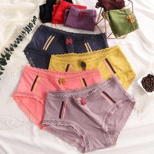 섹시한면 팬티 여성은 투명 팬티 통기성 속옷 여자 레이스 sexi 3 PC를 설정 판티 pantys transpar lingeri 분홍색