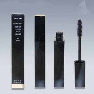 FREE SHIPPING Sublime Beauty Waterproof Mascara Black 6g Makeup Length and Curl Long-lasting Mascara Wholesale High Quality