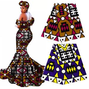 Ankara Africano Prints Fabric garantido real Wax Tissu 100% Algodão Melhor qualidade de costura de materiais para festa vestido Crafts DIY pagne