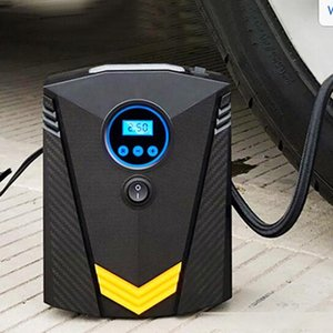 Professional Car Tyre Inflator 12V Digital Tire Inflatable Pump illumination Auto Air Compressor for Cars Wheel Tires Electric
