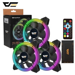 darkFlash CF11 Pro RGB PC Case Fan 120mm Computer Case CPU Cooling Fan Quiet Asus Aura Sync Cooler Adjust Speed LED PC Cool