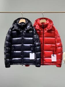 2020 Hombres abajo Chaqueta de moda Chaqueta de diseño cálido para invierno Capucha desmontable 90% Blanco Ganso Blanco Relleno Materiales de calidad superior Abrigo