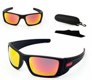Une paire avec lunettes de soleil piles à combustible rapide de livraison rapide de livraison Case Fashion Plage Sunglass Outdoor Sport lunettes de soleil beaucoup de couleurs.